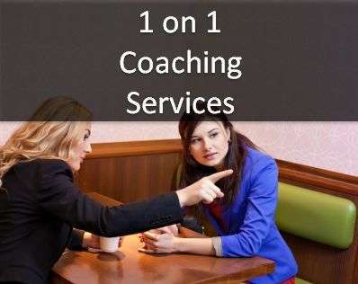 1-on-1 coaching services