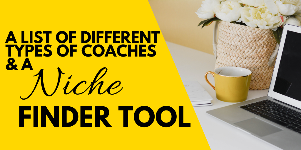 types of coaches and coaching certification niches